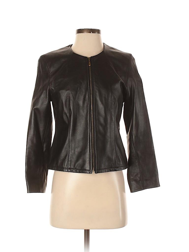 Artifacts Women Leather Jacket Size XS (Petite)