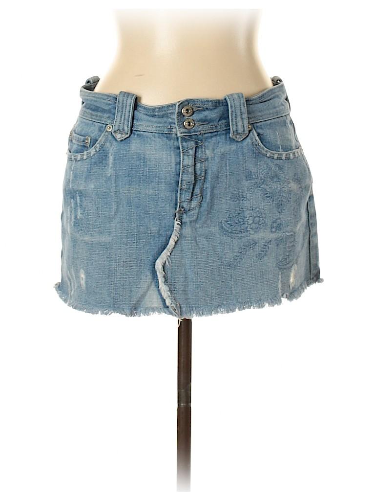 Refuge Women Denim Skirt Size 11