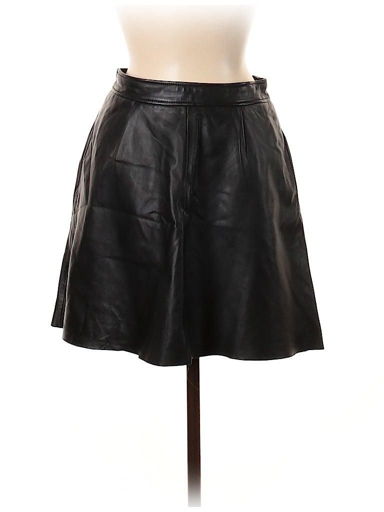 Lucky Brand Women Leather Skirt Size 6