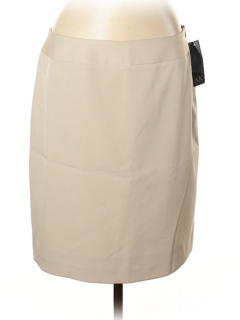 Anne Klein Women Casual Skirt Size 14 (Petite)