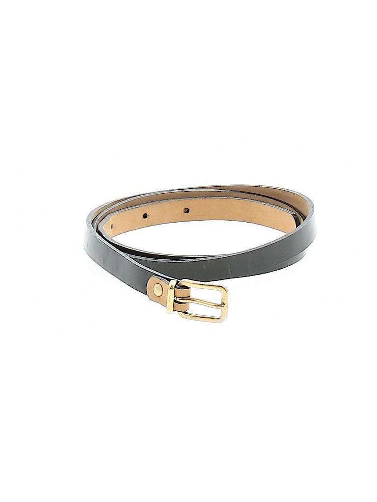 J. Crew Women Leather Belt Size M
