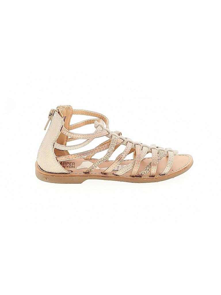 Harper Canyon Girls Sandals Size 11