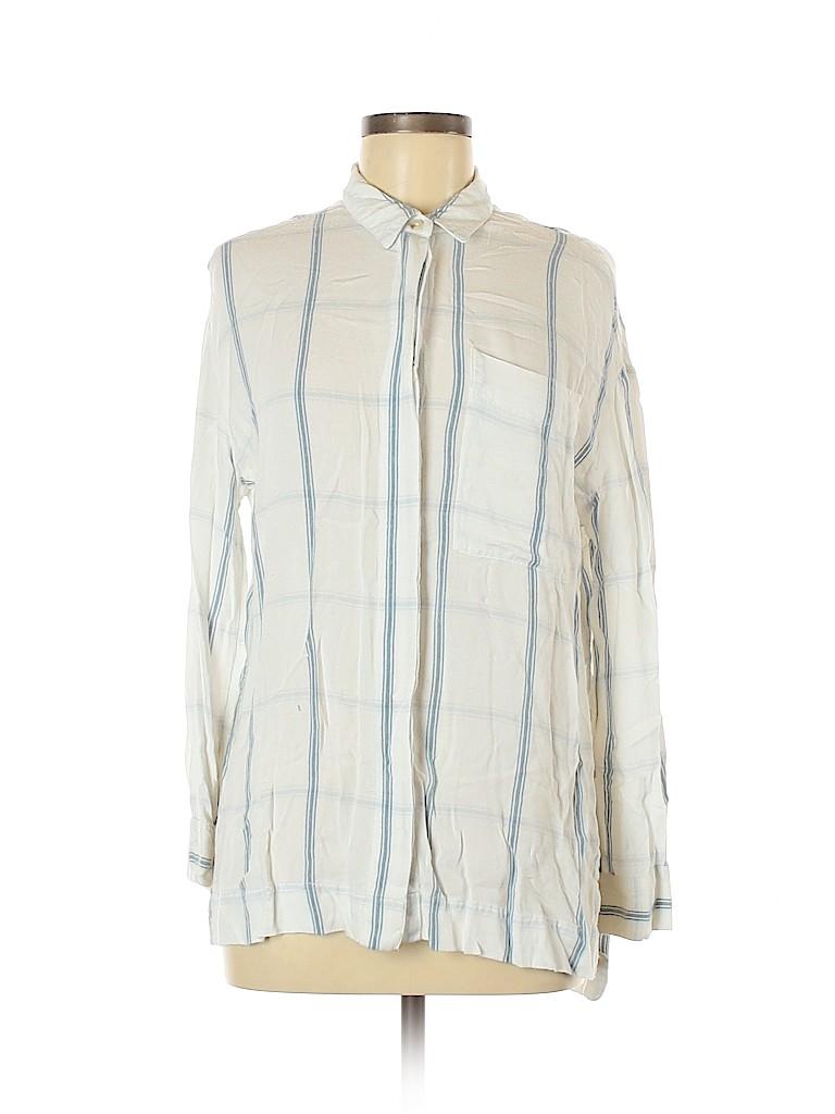 BDG Women Long Sleeve Button-Down Shirt Size S