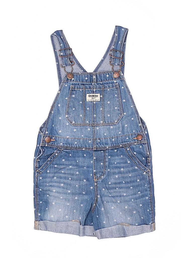 OshKosh B'gosh Girls Overall Shorts Size 5T