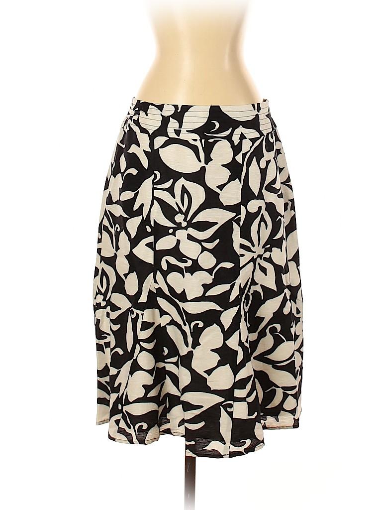 Chico's Women Silk Skirt Size Sm (0.5)