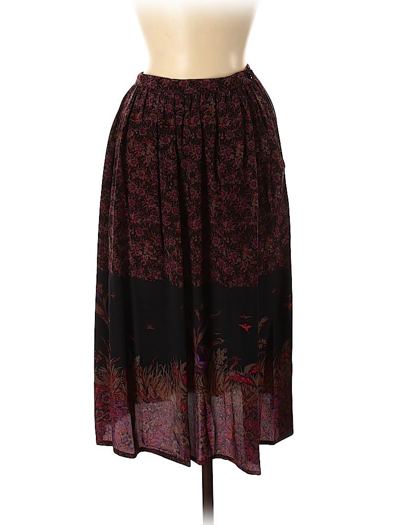 Carole Little Women Silk Skirt Size 6