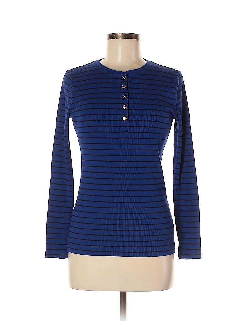 Lauren by Ralph Lauren Women Long Sleeve Henley Size M