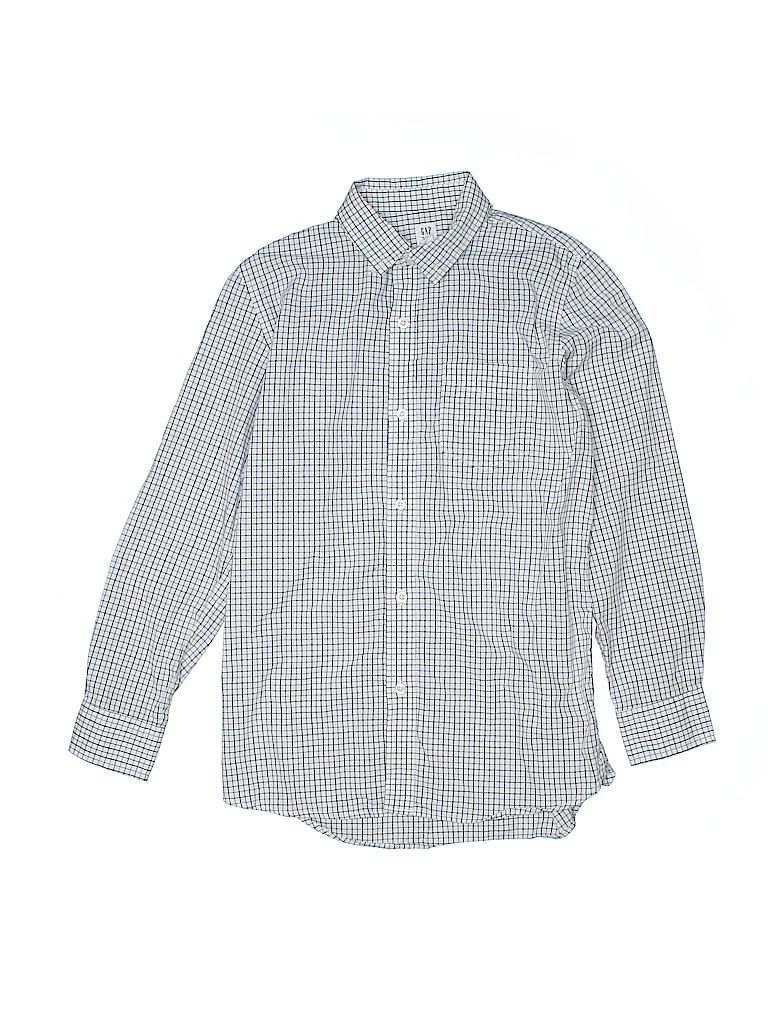 Gap Boys Long Sleeve Button-Down Shirt Size 14 - 16
