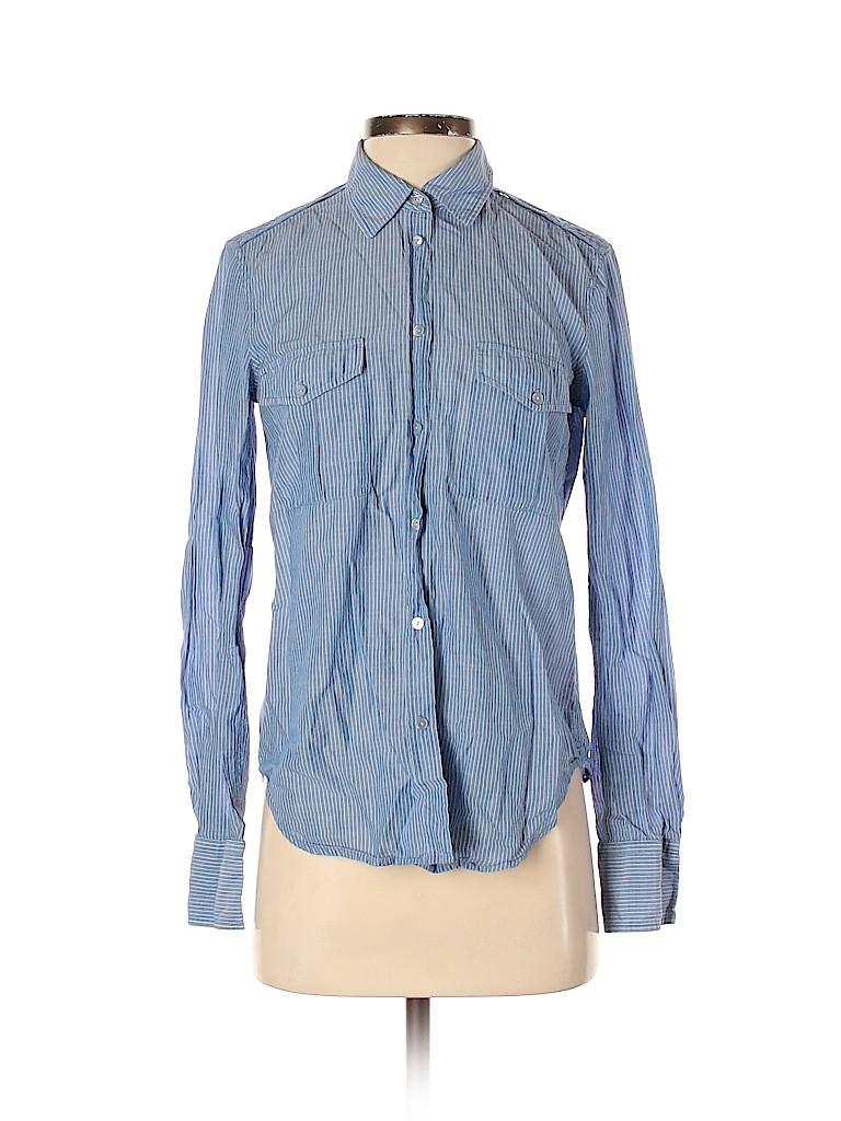 Vince. Women Long Sleeve Button-Down Shirt Size 4