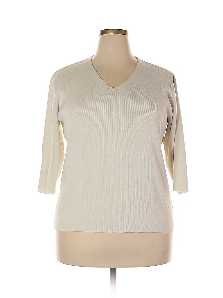 DressBarn Women Pullover Sweater Size 18 - 20 (Plus)