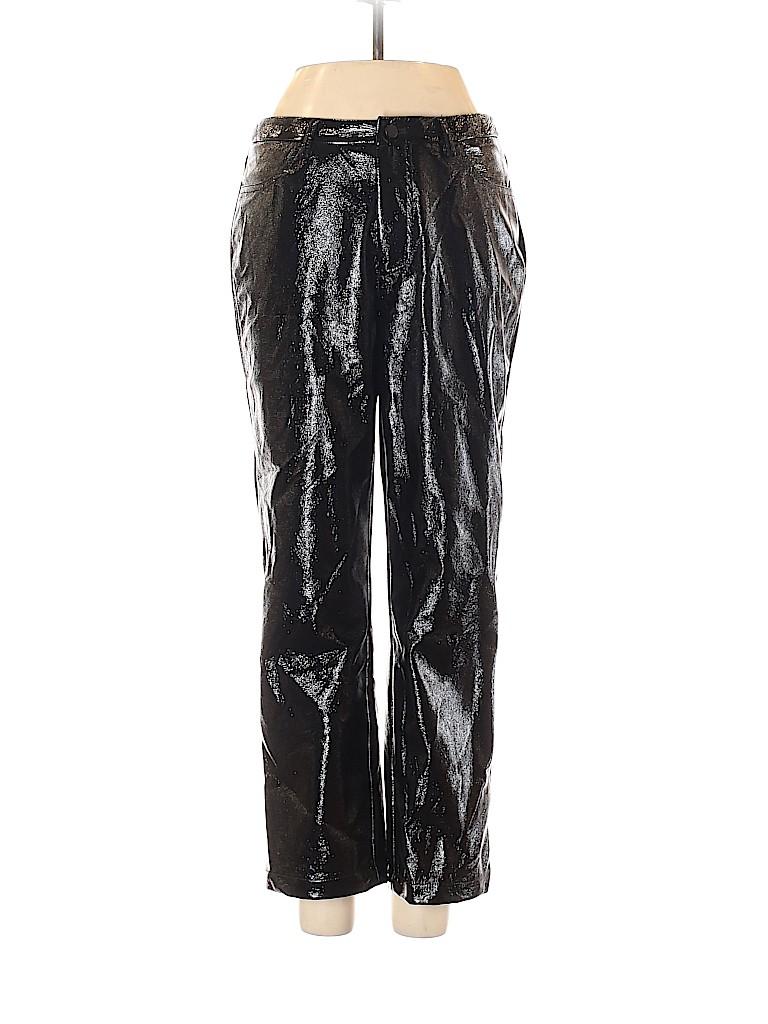 XLE Women Faux Leather Pants Size XS