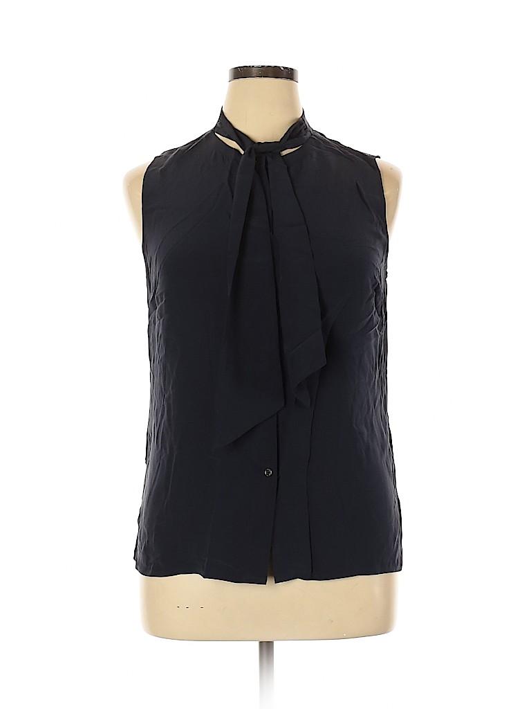 Tory Burch Women Sleeveless Silk Top Size 14