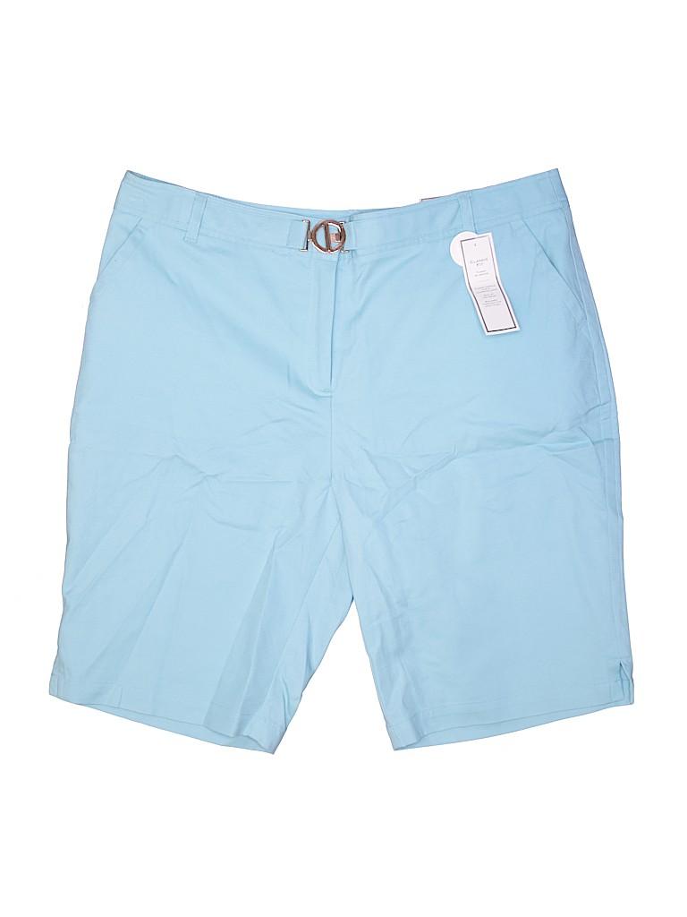 Charter Club Women Shorts Size 18 (Plus)