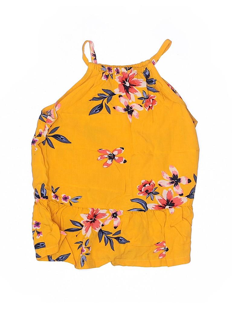 Old Navy Girls Sleeveless Blouse Size 6 - 7
