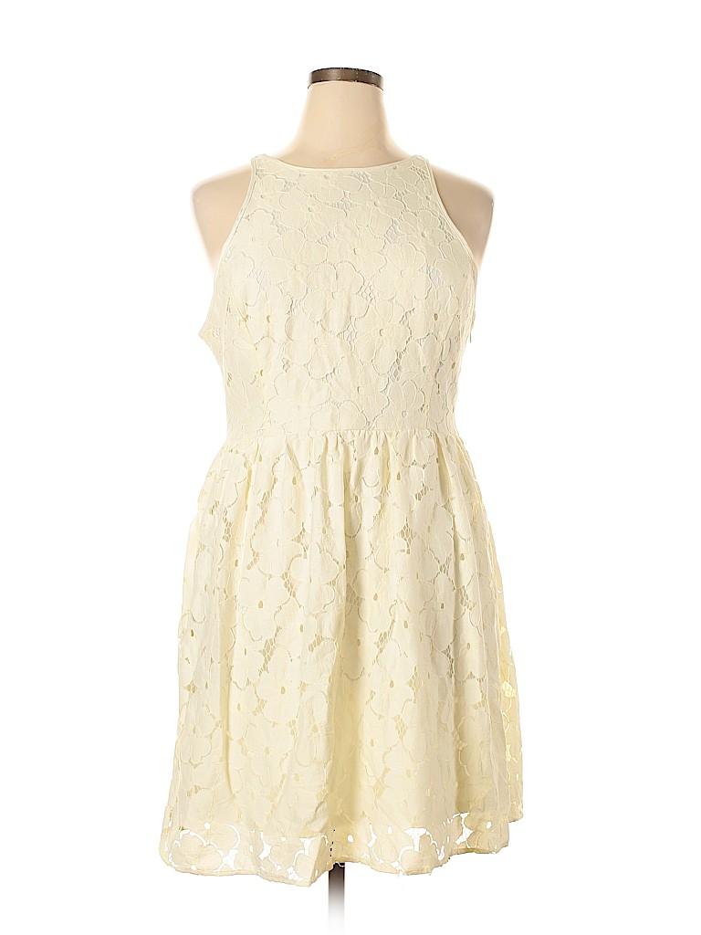LC Lauren Conrad Women Casual Dress Size 16