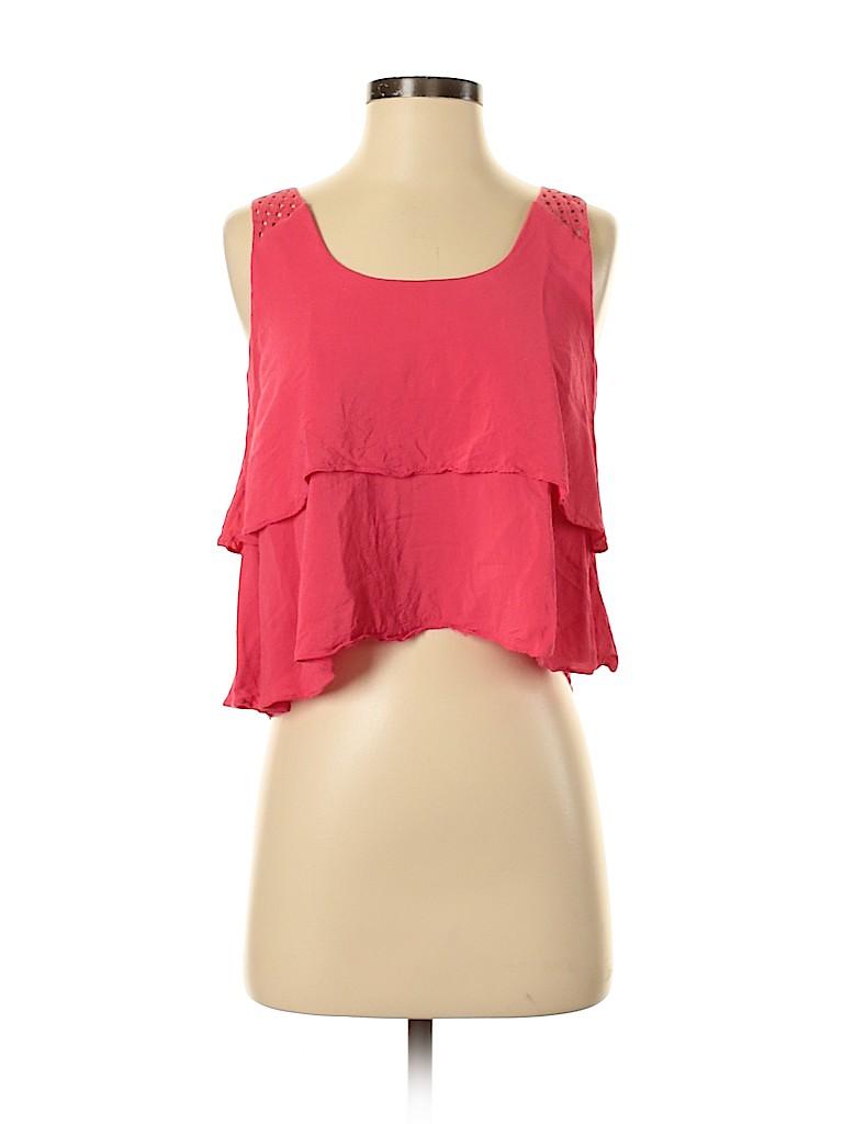 HD in Paris Women Sleeveless Blouse Size 00