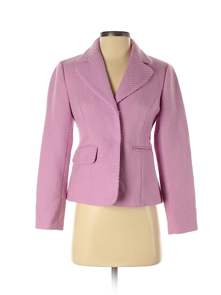 Ann Taylor LOFT Women Wool Blazer Size 2 (Petite)