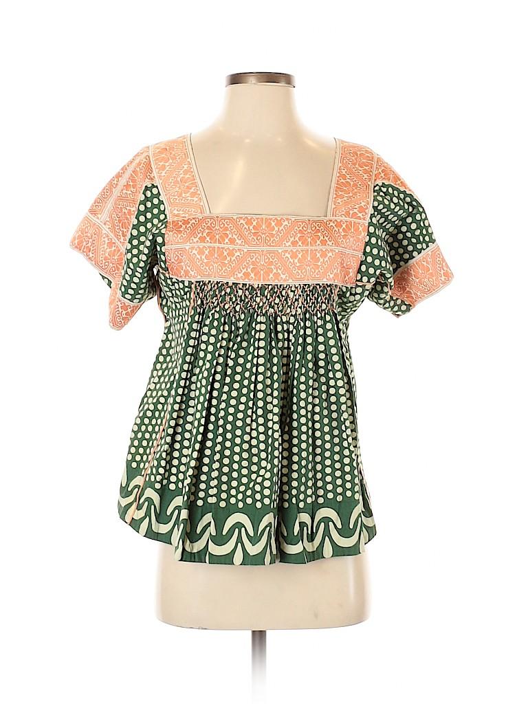 Plenty By Tracy Reese Women Short Sleeve Blouse Size S