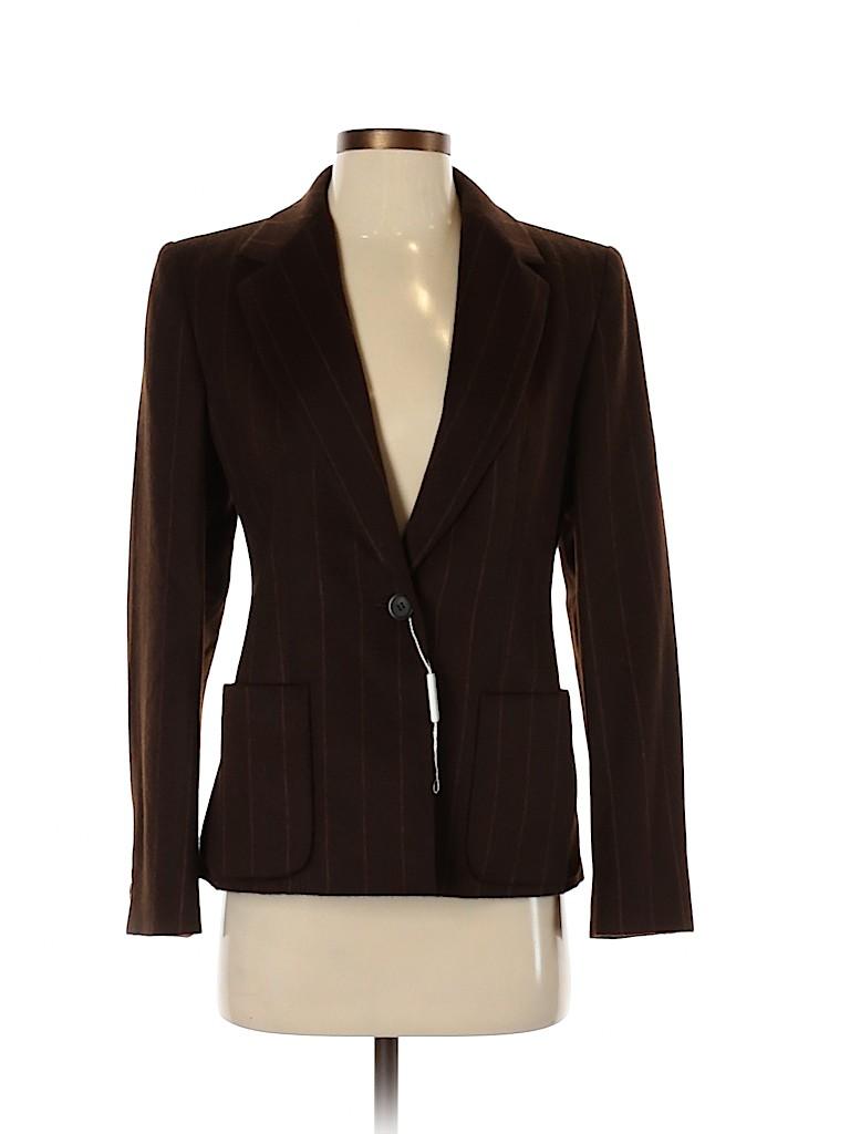 Max Mara Women Wool Blazer Size 40 (IT)