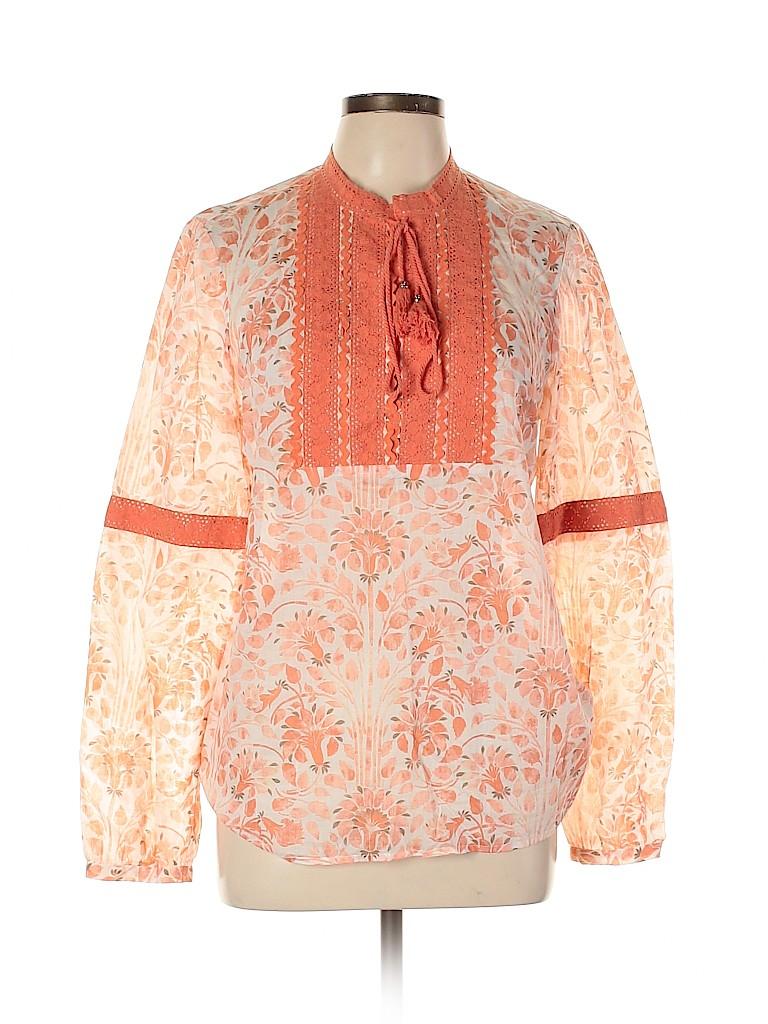 Tory Burch Women Long Sleeve Blouse Size 12