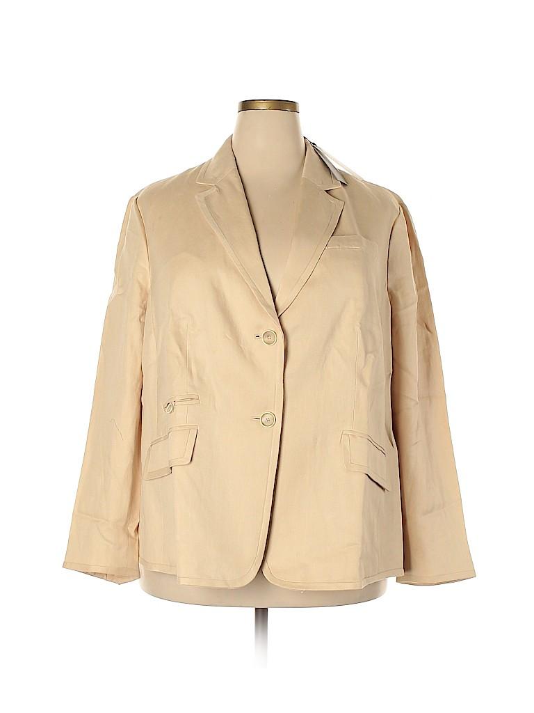 Talbots Women Blazer Size 20W (Plus)