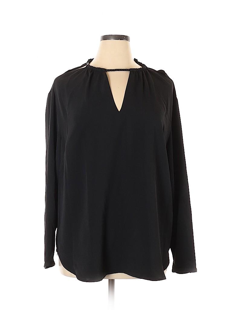 Lauren by Ralph Lauren Women Long Sleeve Blouse Size 2X (Plus)
