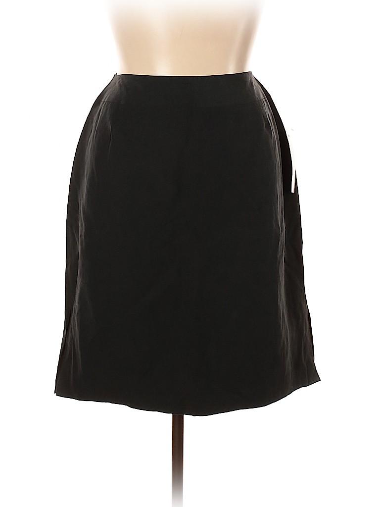 Stanley Blacker Women Silk Skirt Size 14W