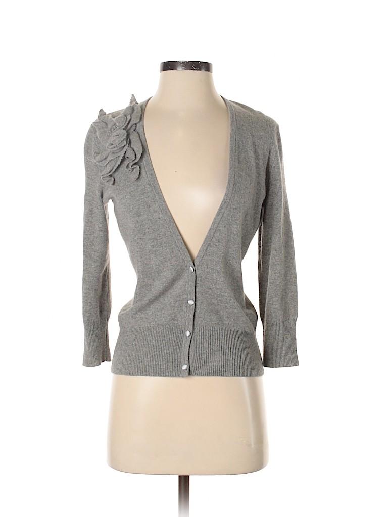 Design History Women Cashmere Cardigan Size M