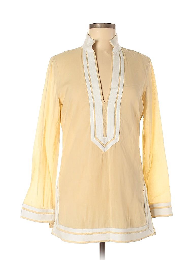 Tory Burch Women Long Sleeve Blouse Size 6