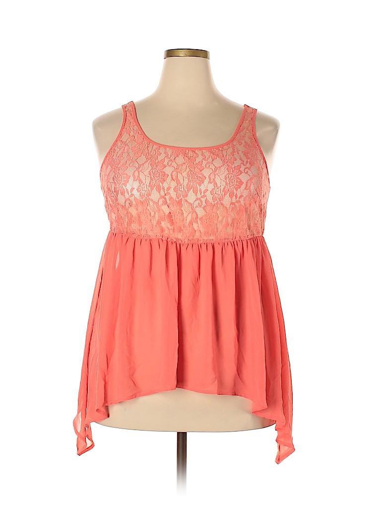 Torrid Women Sleeveless Blouse Size 1X Plus (1) (Plus)
