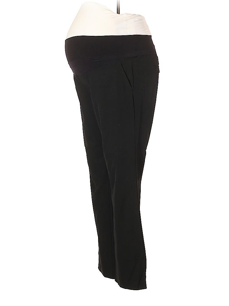 A Pea in the Pod Women Dress Pants Size L (Maternity)