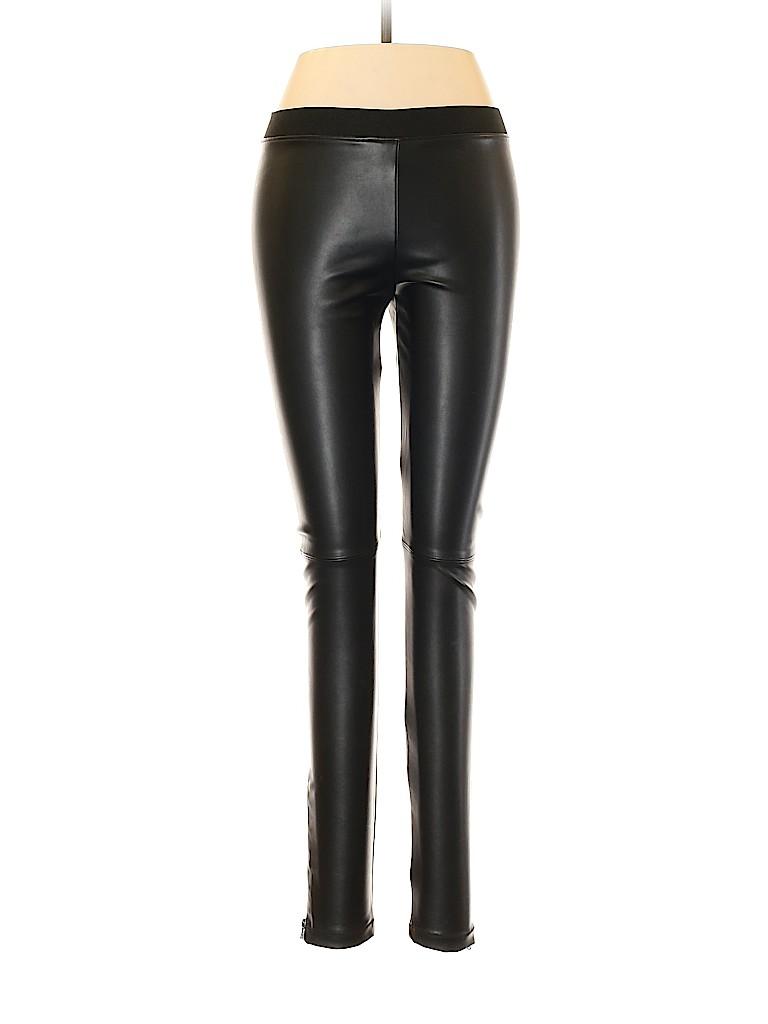 David Lerner Women Faux Leather Pants Size M