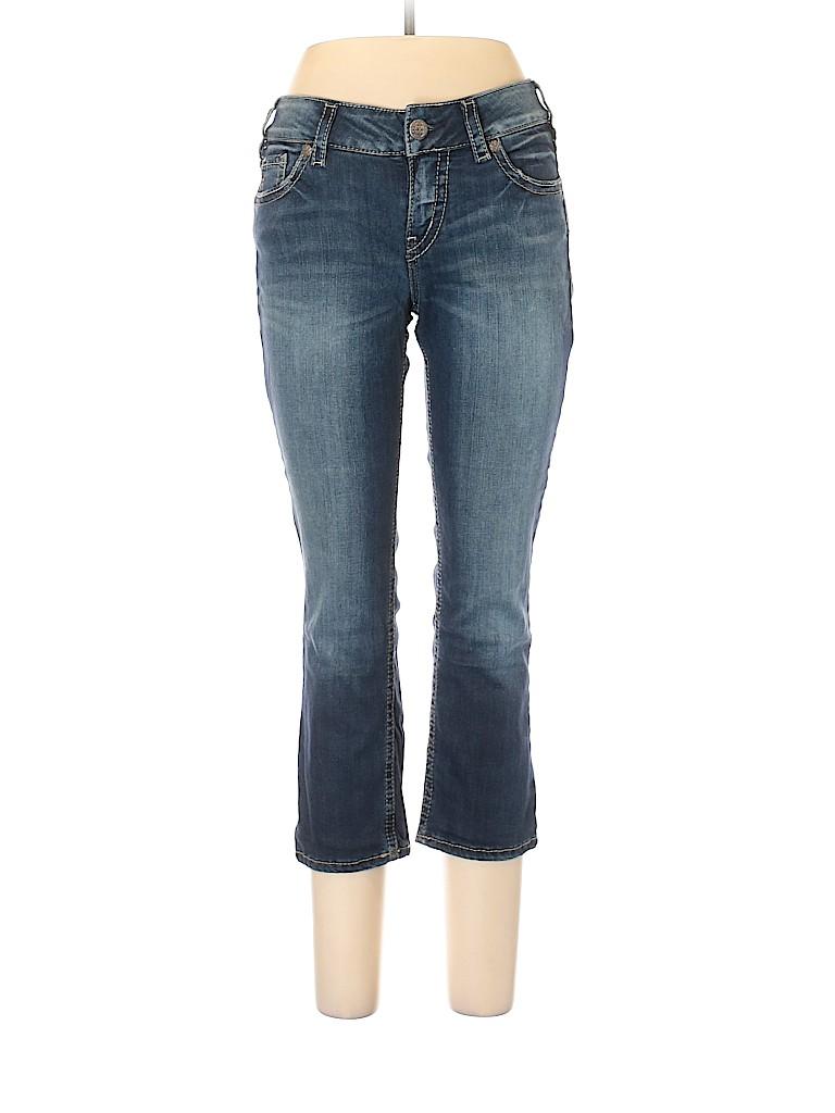 Silver Women Jeans 30 Waist