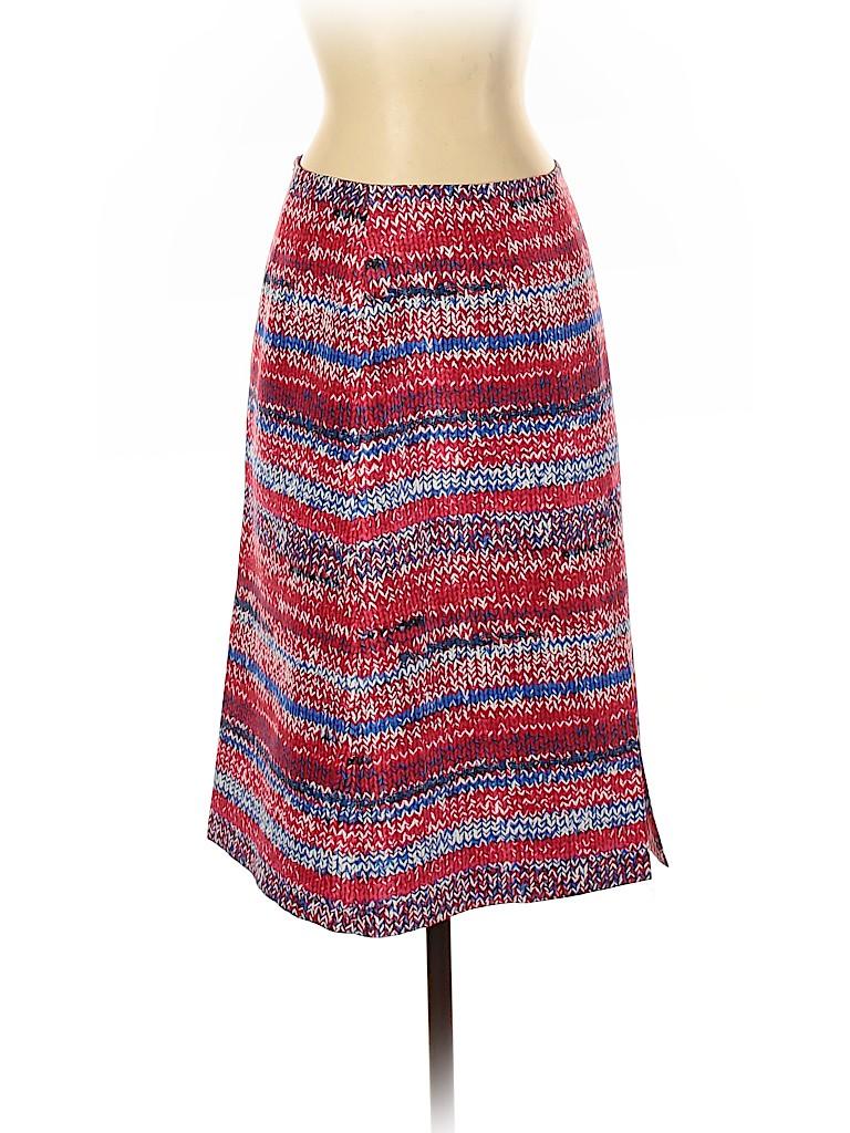Tory Burch Women Silk Skirt Size 2