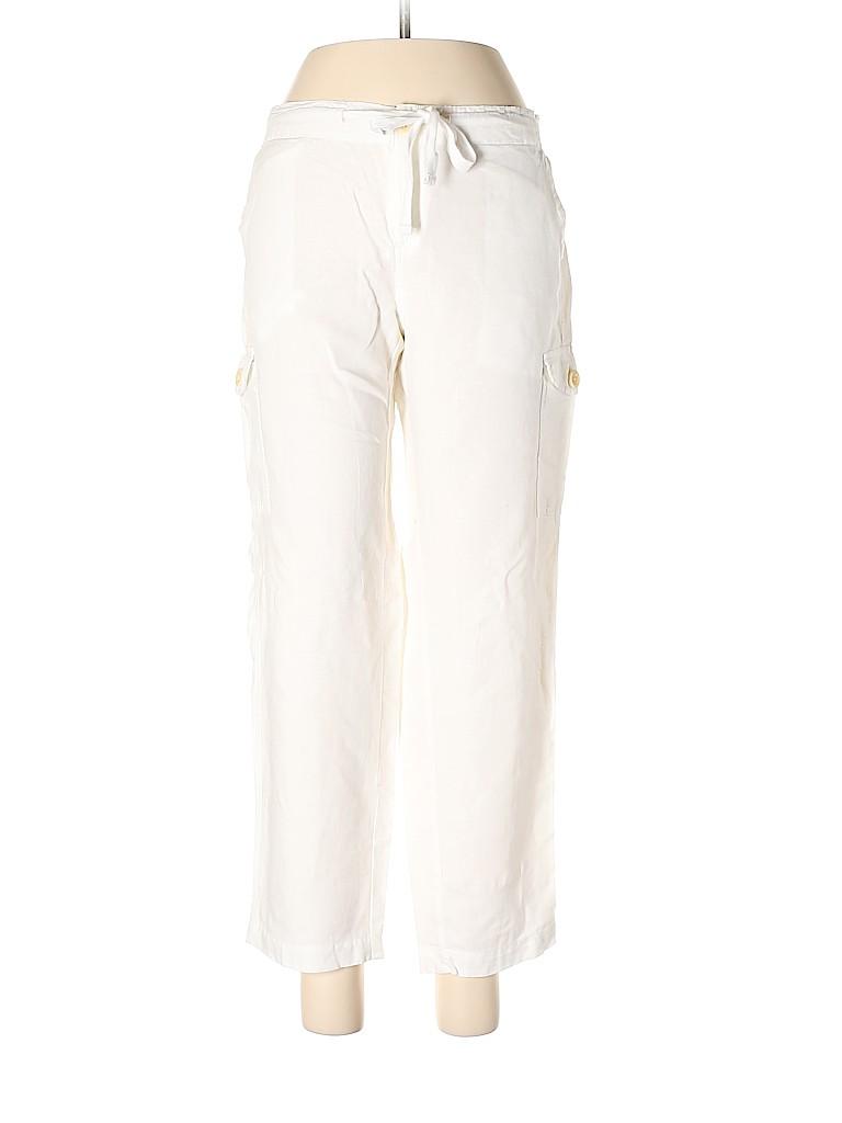 J. Crew Women Linen Pants Size 6