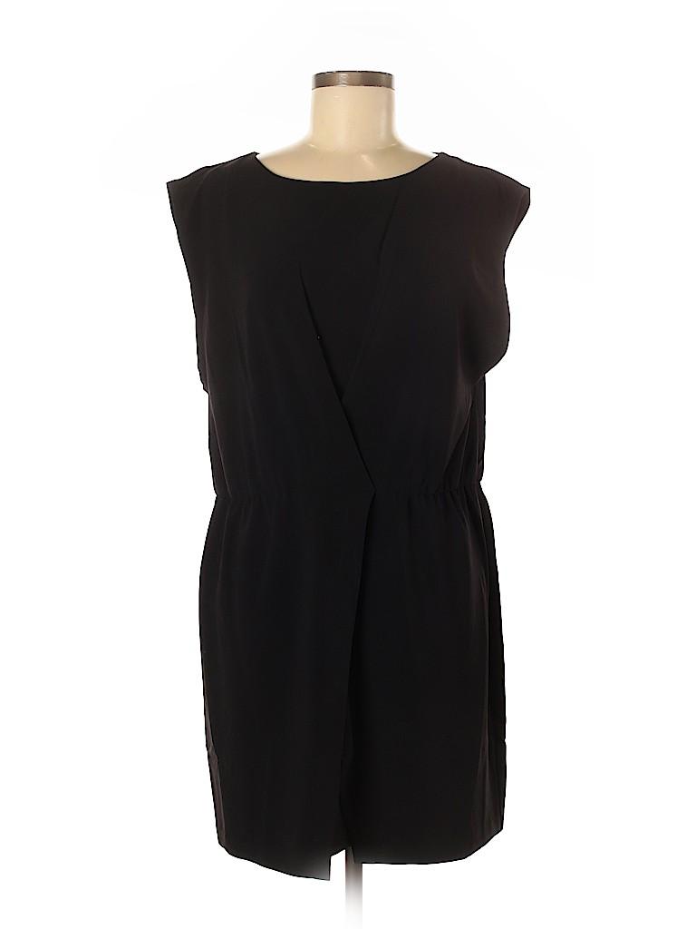 Halston Heritage Women Casual Dress Size L