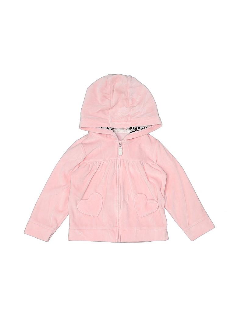 Carter's Girls Zip Up Hoodie Size 24 mo