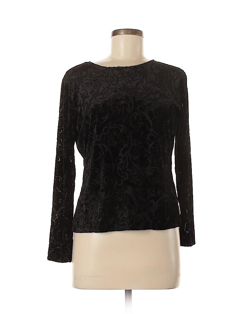 Talbots Women Long Sleeve Blouse Size M