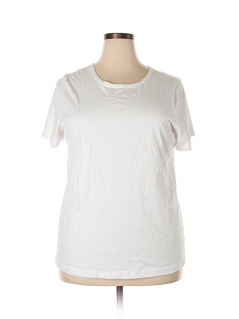 Woman Within Women Short Sleeve T-Shirt Size 18 - 20 (Plus)