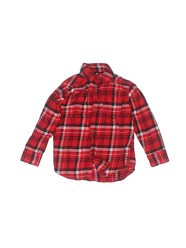 Carter's Girls Long Sleeve Button-Down Shirt Size 3T
