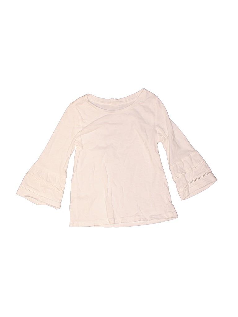 Baby Gap Girls 3/4 Sleeve Top Size 3