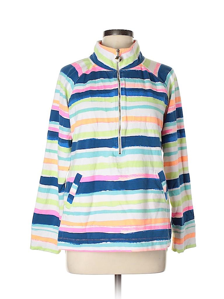 Lilly Pulitzer Women Track Jacket Size XL