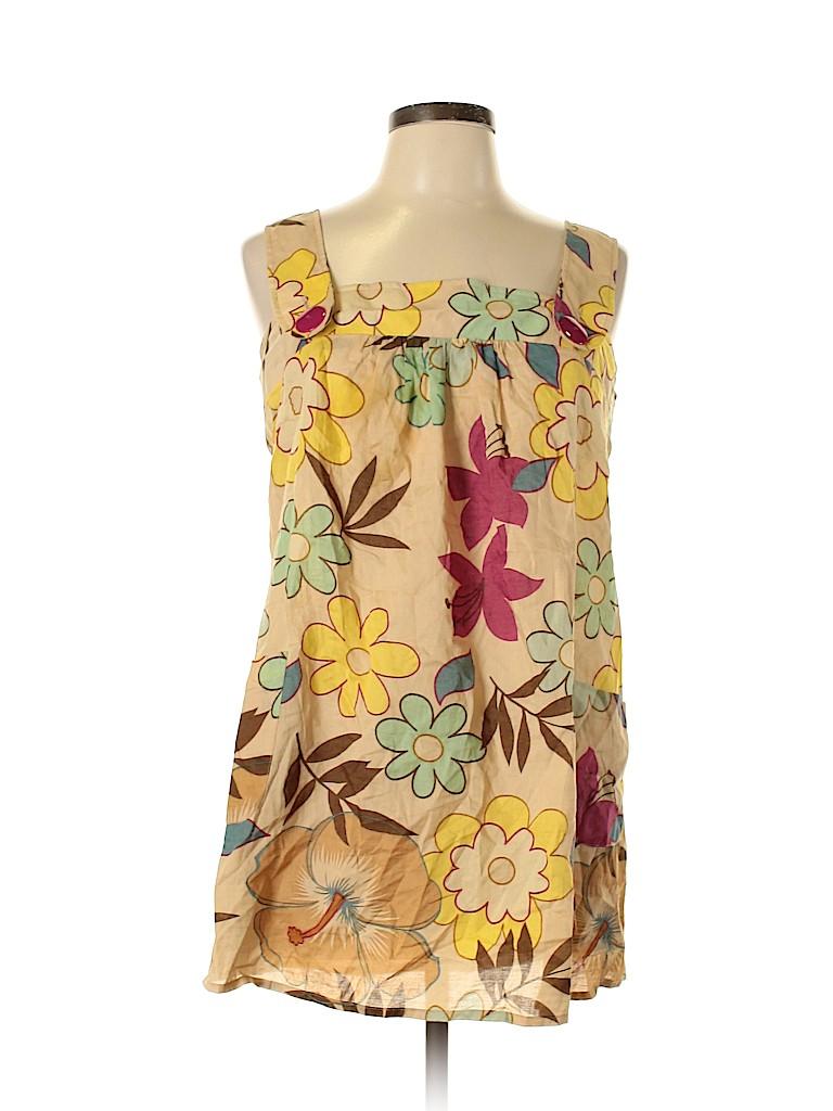 Xhilaration Women Sleeveless Blouse Size XL
