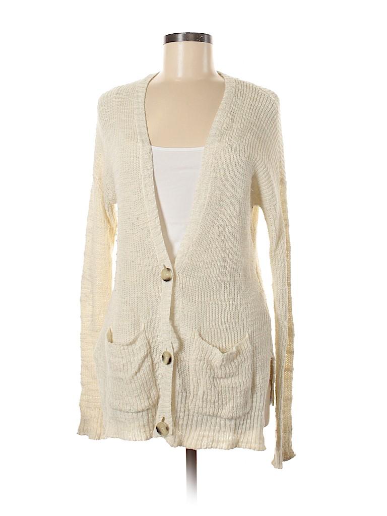 Hollister Women Cashmere Cardigan Size Med - Lg