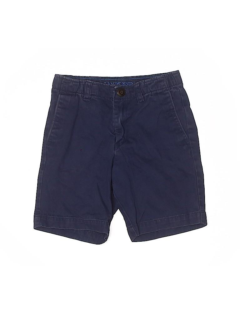 Lands' End Boys Khaki Shorts Size 7