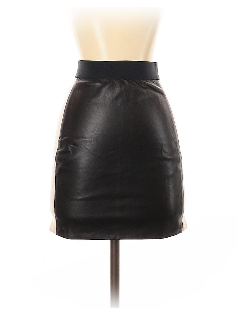 Mason Women Leather Skirt Size 2