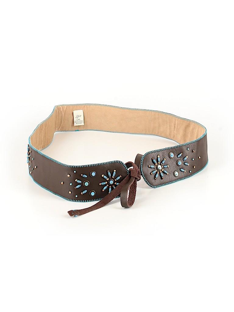 J.jill Women Leather Belt Size Lg - XL