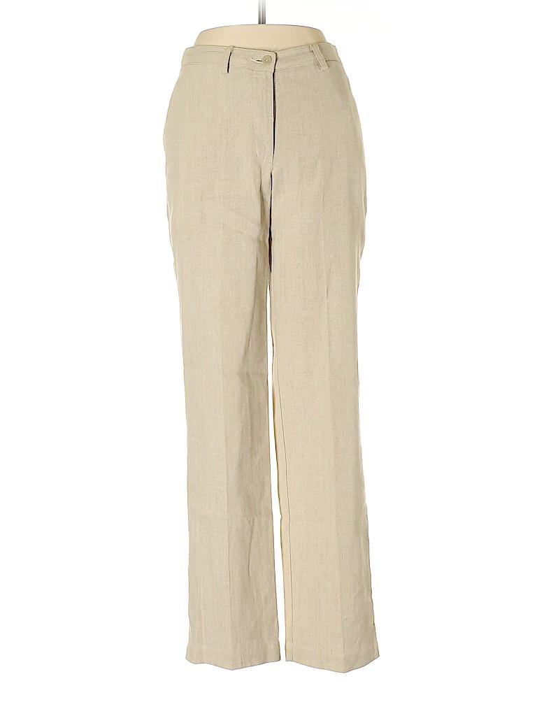 Liz Claiborne Women Linen Pants Size 6 (Petite)