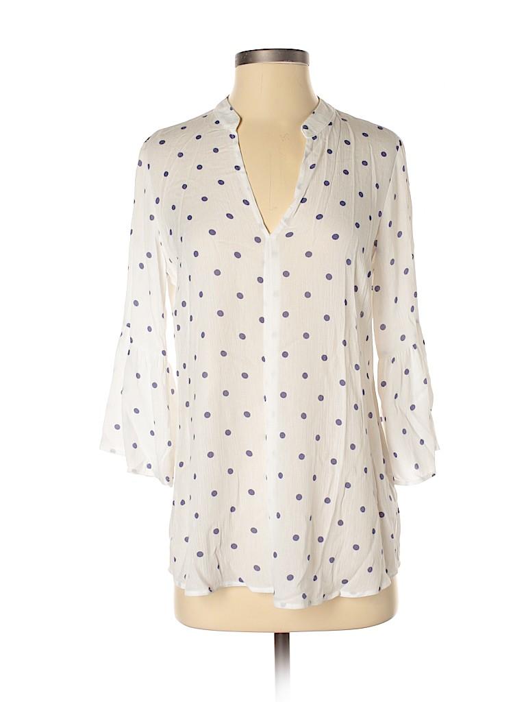 Splendid Women 3/4 Sleeve Blouse Size XS