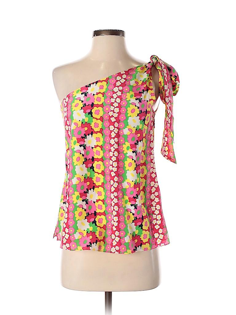 Lilly Pulitzer Women Sleeveless Silk Top Size 2